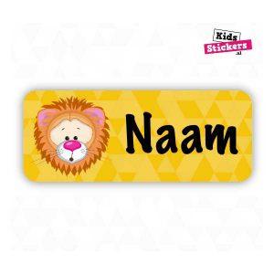 Naamsticker Leeuw