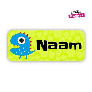 Naamsticker Monster