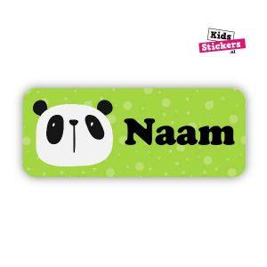 Naamsticker Panda