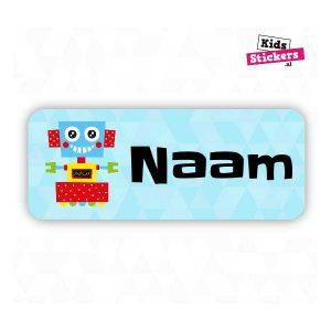 Naamsticker Robot