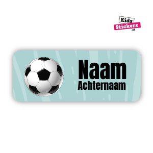 Naamsticker Voetbal