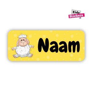 Naamsticker schaap